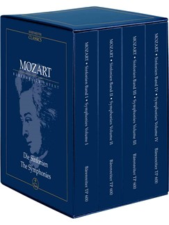 W.A. Mozart: The Complete Symphonies in Four Volumes Books | Orchestra