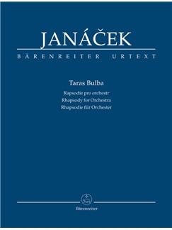 L. Janacek: Taras Bulba - Rhapsody For Orchestra (Study Score) Books | Orchestra