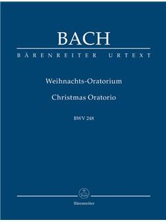 J.S. Bach: Christmas Oratorio BWV 248 (Study Score) Libro | SATB, Orquesta