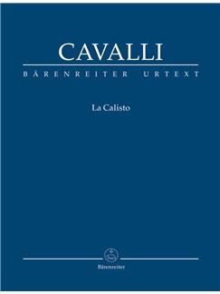Francesco Cavalli: La Calisto (It-E) (Urtext) Books | Opera