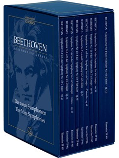 Ludwig Van Beethoven: The Nine Symphonies (Study Score Box Set) Books |