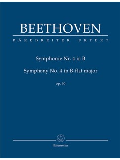 Ludwig Van Beethoven: Symphony No.4 In B Flat Op.60 (Study Score) Books | Orchestra