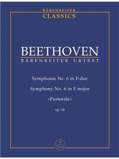 Ludwig Van Beethoven: Symphony No.6 In F Op.68 (Study Score) Books | Orchestra