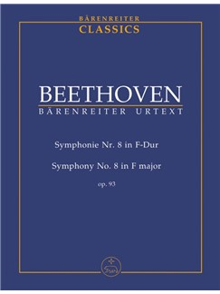 Ludwig Van Beethoven: Symphony No.8 In F Op.93 (Study Score) Books | Orchestra