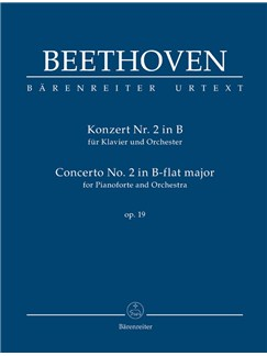 Ludwig Van Beethoven: Piano Concerto No.2 In B-Flat Op.19 (Study Score) Books | Orchestra, Piano