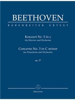 Ludwig Van Beethoven: Piano Concerto No.3 In C Minor Op.37 (Study Score) Books | Orchestra, Piano