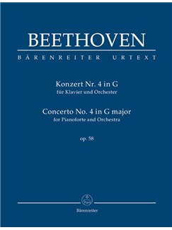 Ludwig Van Beethoven: Piano Concerto No.4 In G Op.58 (Study Score) Books | Orchestra, Piano