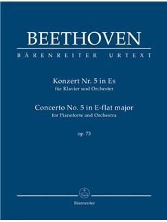 Ludwig Van Beethoven: Piano Concerto No.5 In E-Flat Op.73 (Study Score) Books | Orchestra, Piano