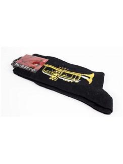 Socks: Trumpet - Black (Size 6-11)  | Trumpet