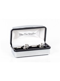 Tie Studio: Treble Clef Cufflinks  |