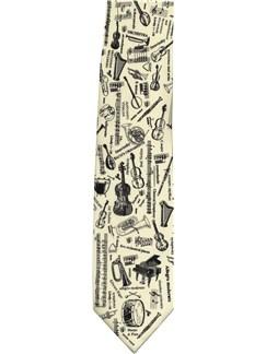 Tie Studio: Cream Tie - Sharps And Flats (Updated)  |