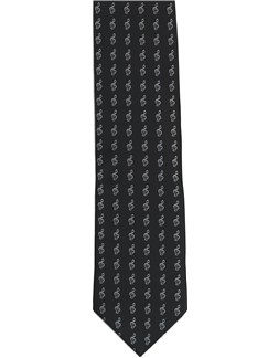 Tie Studio: Small Treble Clefs Tie  |