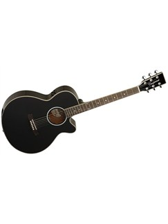 Tanglewood: TSF CE BK Evolution Electro-Acoustic Guitar Instruments | Electro-Acoustic Guitar