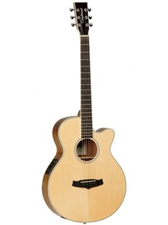 Tanglewood: Evolution Deluxe Super Folk Cutaway Electro-Acoustic Guitar Instruments | Electro-Acoustic Guitar