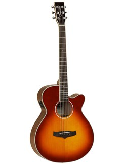 Tanglewood: Evolution TSF CE TSB - Super Folk Electro-Acoustic Guitar (Sunburst) Instruments | Electro-Acoustic Guitar