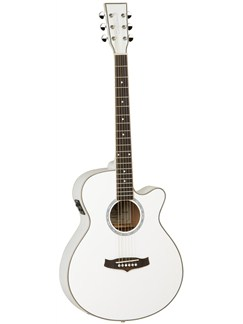 Tanglewood: TSF CE WH Evolution Electro-Acoustic Guitar Instruments | Electro-Acoustic Guitar