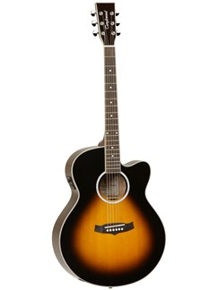 Tanglewood: TSJ CE Evolution Series Super Jumbo Electro-Acoustic Guitar Instruments | Electro-Acoustic Guitar