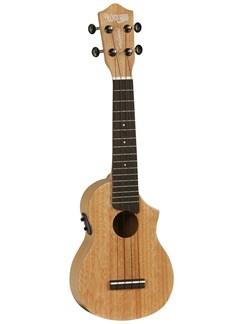 Tanglewood: TU 1 CE Soprano Cutaway Electro-Acoustic Ukulele Instruments | Ukulele