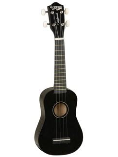 Tanglewood: TU6 Soprano Ukulele - Black Instruments | Ukulele