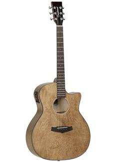 Tanglewood: Folk Cutaway Exotic Electro-Acoustic Guitar - Gloss Instruments | Electro-Acoustic Guitar