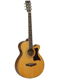 Tanglewood: Premier TW145 ASC Super Folk Electro-Acoustic Guitar Instruments | Electro-Acoustic Guitar