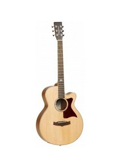 Tanglewood: Premier Iii Super Folk Electro-Acoustic Guitar Instruments   Electro-Acoustic Guitar