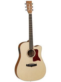 Tanglewood: TW15 OP CE Sundance Natural Dreadnought Electro-Acoustic Guitar Instruments | Electro-Acoustic Guitar