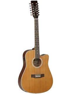 Tanglewood: TW28/12 CLN CE Electro-Acoustic 12-String Guitar Instruments | 12-String Guitar, Electro-Acoustic Guitar