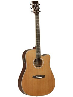 Tanglewood: TW28 CSN CE Dreadnought Electro-Acoustic Guitar Instruments | Electro-Acoustic Guitar