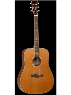 Tanglewood: TW28 CSN Left-Handed Acoustic Guitar Instruments | Left-Handed Guitar, Acoustic Guitar