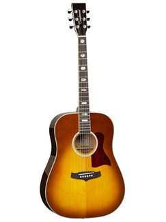 Tanglewood: TW28 SVAB Evolution Dreadnought Acoustic Guitar Instruments | Acoustic Guitar
