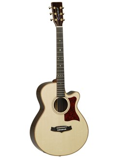 Tanglewood: Heritage Super Folk Electro Acoustic Guitar - Natural Instruments | Electro-Acoustic Guitar