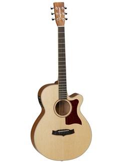 Tanglewood: TW45 OP E Sundance Natural Super Folk Electro-Acoustic Guitar (Spruce/Mahogany) Instruments | Electro-Acoustic Guitar