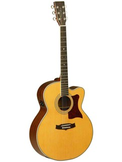 Tanglewood: TW55 NS B Electro Acoustic Guitar (Mahogany/Natural Satin) Instruments | Electro-Acoustic Guitar