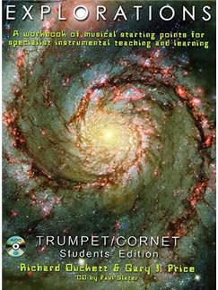 Explorations: Trumpet/Cornet Student Edition Books and CDs | Trumpet, Cornet