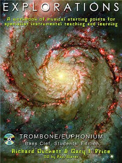 Explorations: Trombone/Euphonium (Bass Clef) Student Edition Books and CDs | Euphonium, Bass Trombone