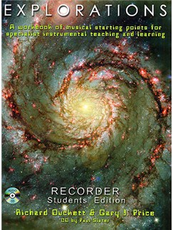 Explorations: Recorder Student Edition Books and CDs | Recorder