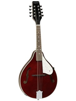 Tanglewood: Teardrop All Linden Mandolin TWM T WR - F Hole (Wine Red Gloss) Instruments | Mandolin
