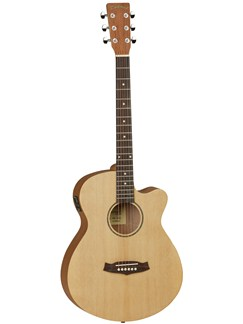 Tanglewood: TWR SFCE Super Folk Cutaway Electro-Acoustic Guitar Instruments | Electro-Acoustic Guitar