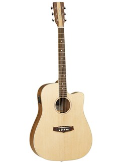 Tanglewood: TNDCE Nashville IV Dreadnought Electro-Acoustic Guitar Instruments   Electro-Acoustic Guitar