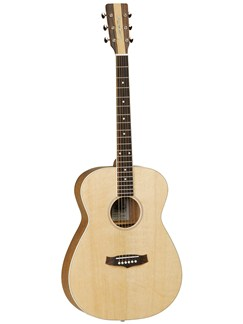Tanglewood: TNF Nashville IV Folk Acoustic Guitar (Natural) Instruments | Acoustic Guitar