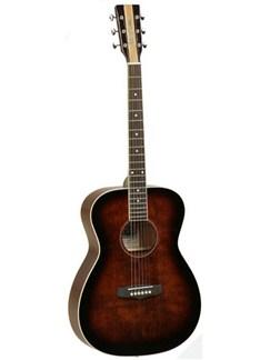 Tanglewood: TNFAV Nashville IV Folk Acoustic Guitar (Antique Violin) Instruments | Acoustic Guitar