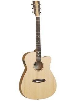 Tanglewood: TNSFCE Nashville IV Folk Electro-Acoustic Guitar Instruments | Electro-Acoustic Guitar