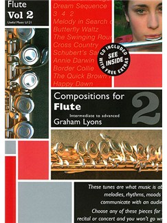 Graham Lyons: Compositions for Flute Volume 2 With CD Books and CDs | Flute, Piano Accompaniment