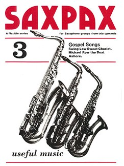 Sax Pax 3 Gospel Songs Books | Saxophone