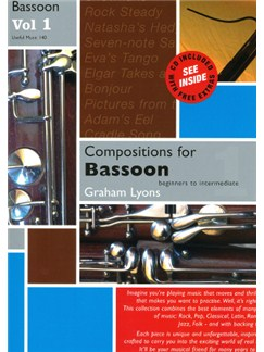 Graham Lyons: Compositions For Bassoon Volume One Books and CDs | Bassoon, Piano Accompaniment