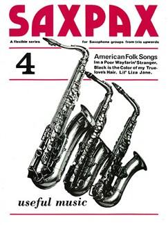 Sax Pax 4 American Folksongs Books | Saxophone