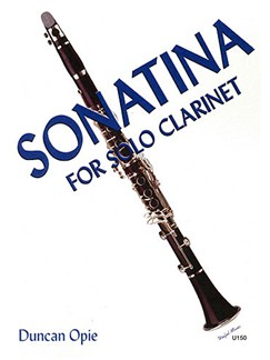 Duncan Opie: Sonatina For Solo Clarinet Books | Clarinet