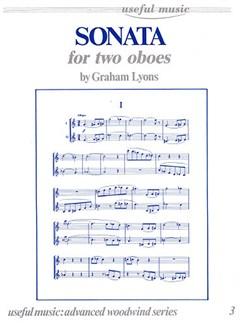Graham Lyons: Sonata For Two Oboes Books | Oboe