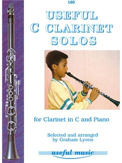 Graham Lyons: Useful C Clarinet Solos Book One Books | Clarinet, Piano Accompaniment